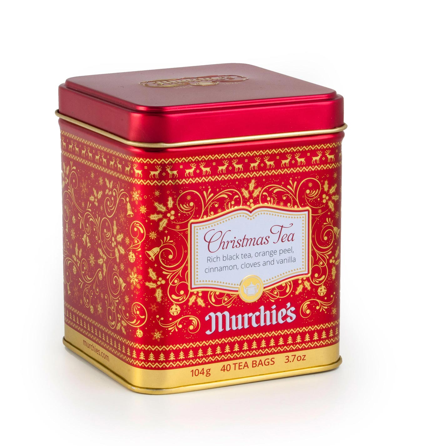 Murchie's Christmas tin